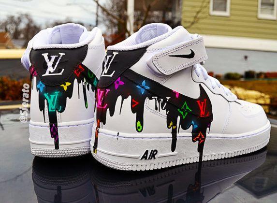 Custom Nike Air Force 1 Low | Zapatos nike, Zapatos nike