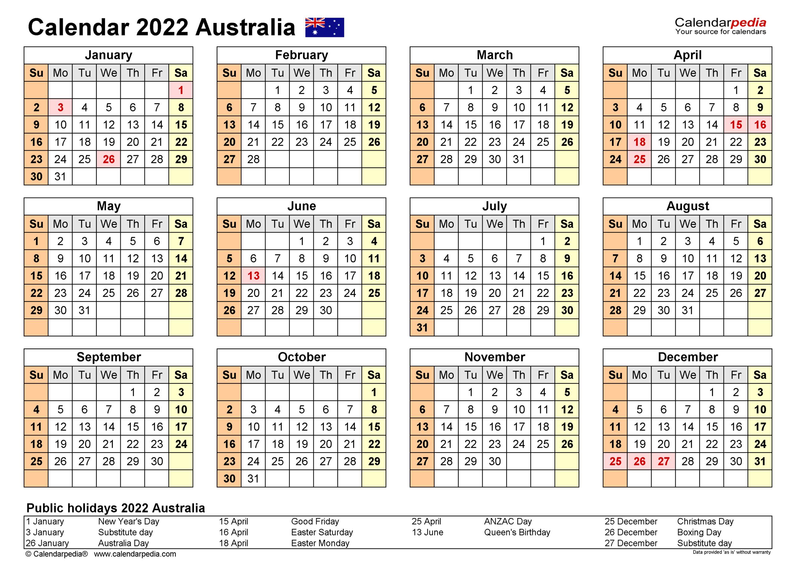 Uri Calendar 2022.Australia Calendar 2022 Free Printable Excel Templates In 2021 2022 Three Year Planner 3 Y In 2021 Calendar Australia Holiday Calendar Printable Calendar Template