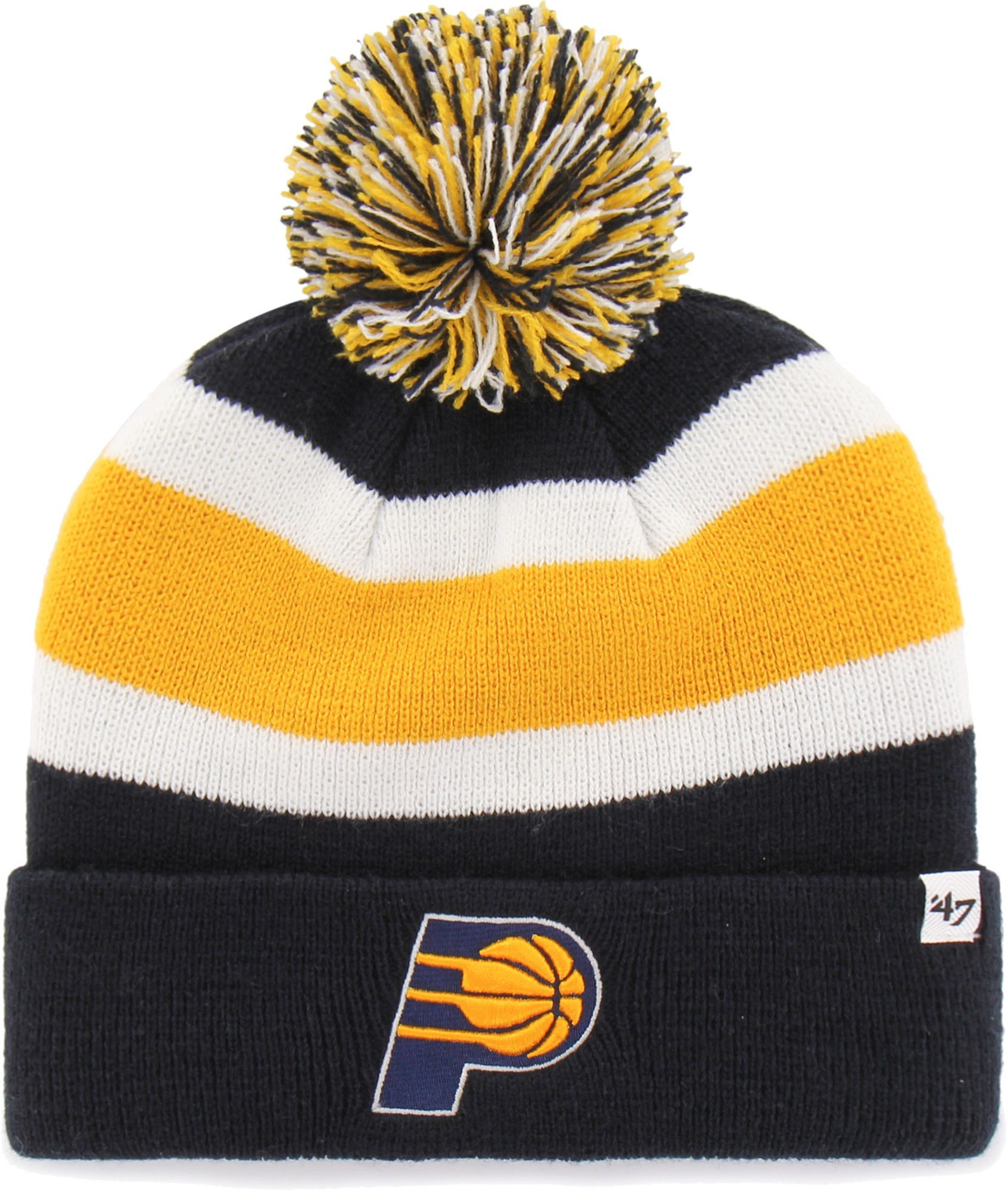bb5295b7996 47 Men s Indiana Pacers Breakaway Knit Hat