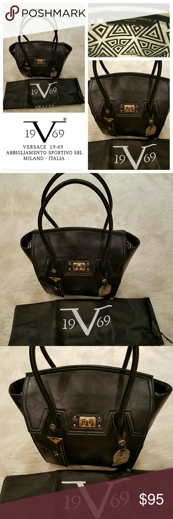 225 New VERSACE 1969 Kelly Style Bag Brand New with Tags. Versace 1969 bag. 1944a509661b8