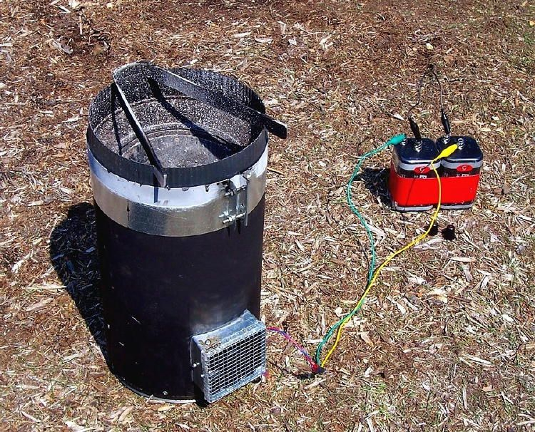 The Smity Camp Stove Is A Homemade Home Made Wood Burning