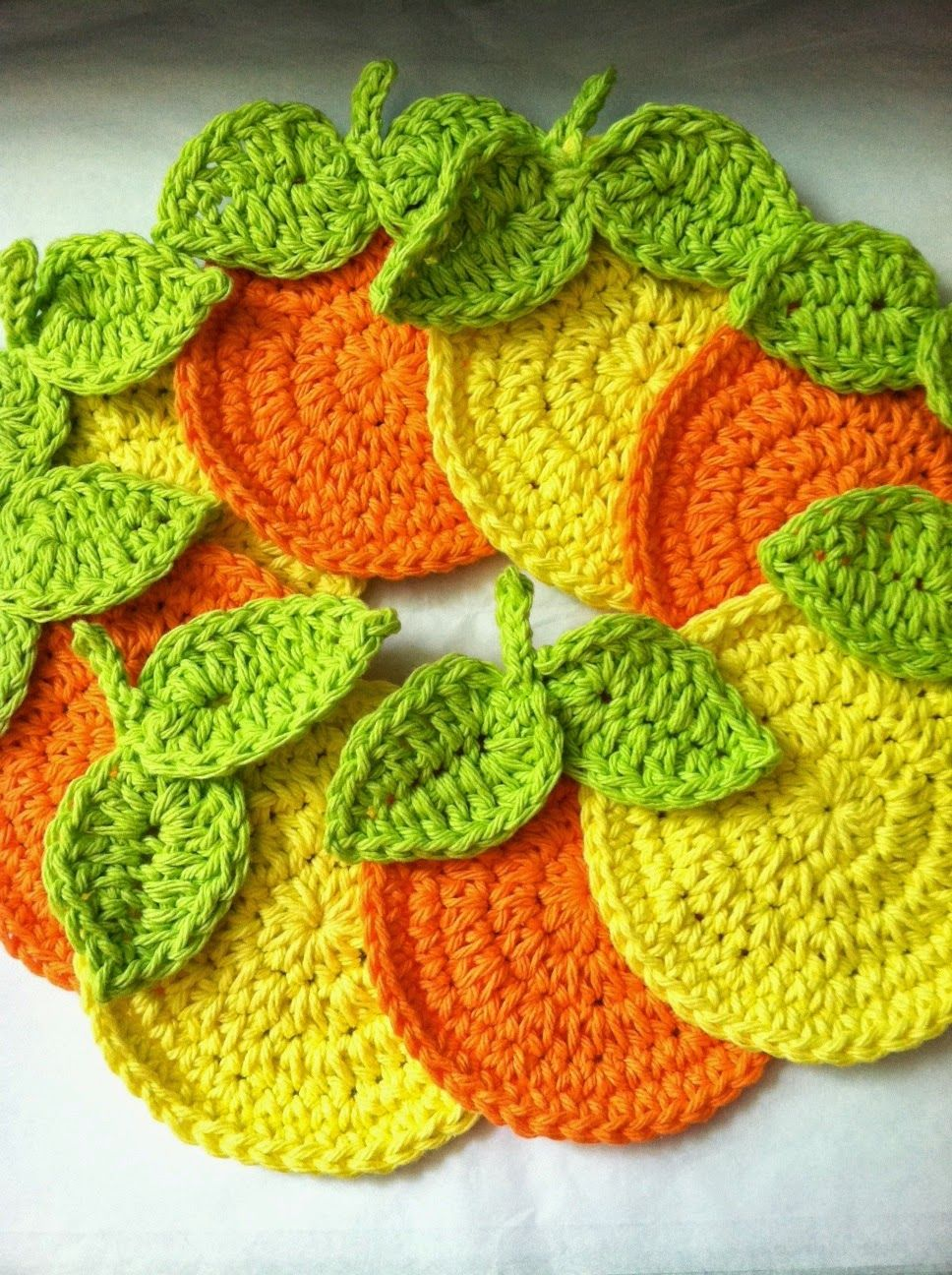 Lakeview cottage kids free pattern for oranges crochet coaster bankloansurffo Images