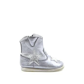 Blox - zilveren enkellaarsjes | Dolcis.nl