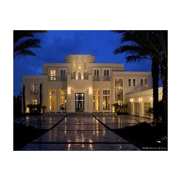 Florida Large Luxury Estates For Sale | Mansions ❤ liked on Polyvore featuring house, homes, places and pictures