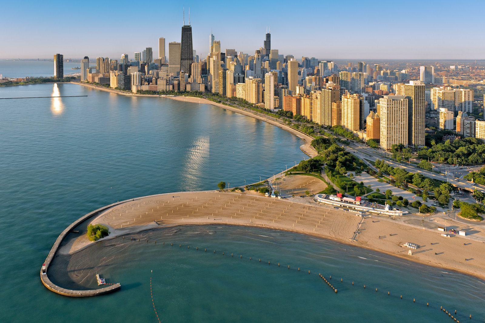 North Avenue Beach Chicago Il