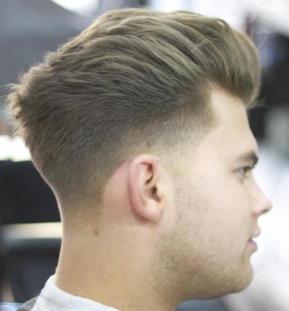 Taper Fade For Thick Hair Temp Fade Haircut Fade Haircut Thick Hair Styles