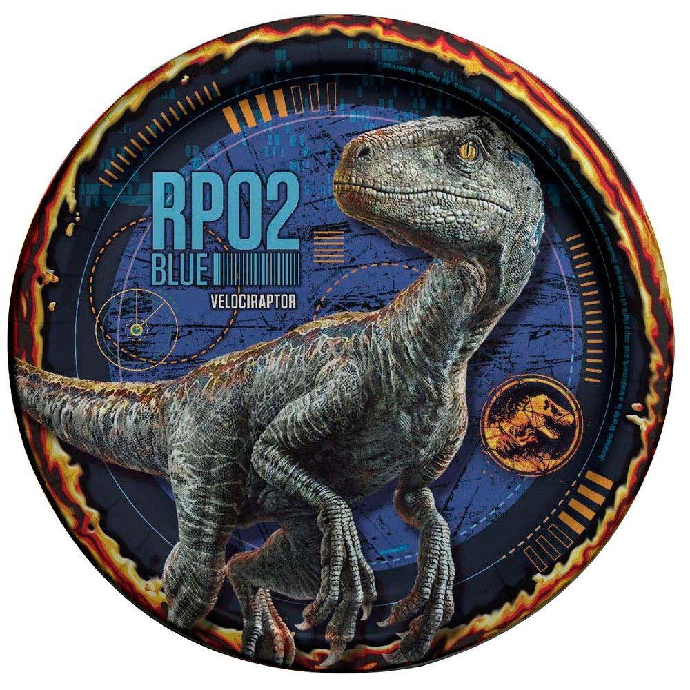Jurassic World 7 Paper Plates 8ct Products In 2018 Pinterest Prime 1 Studio Tyrannosaurus Rex Park 1993 15