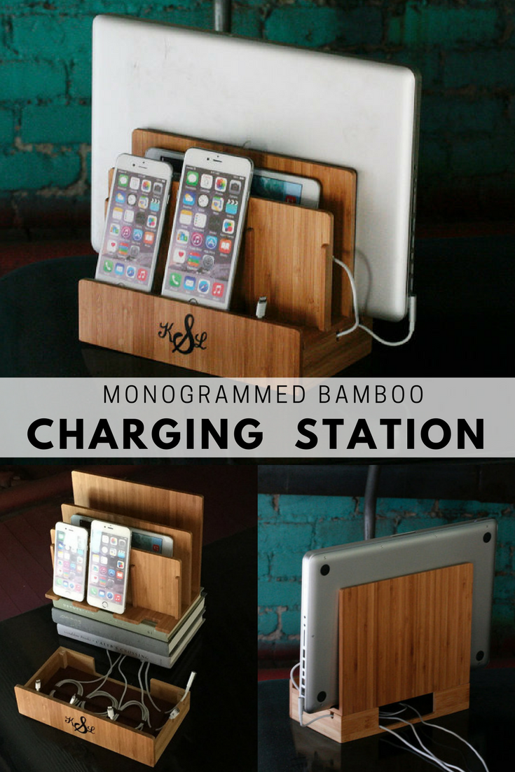 Merveilleux Sleek Charging Station For Your Home Office!