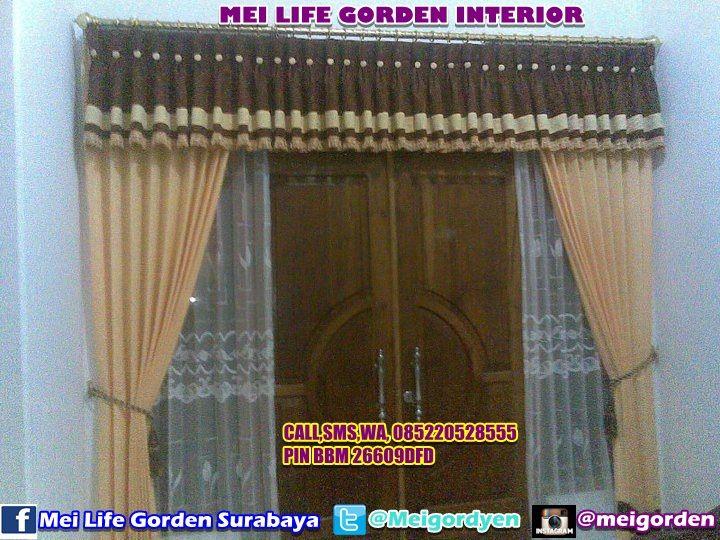 Model Gorden Pintu Tengah 92 gambar model gorden lengkap terbaik desain interior