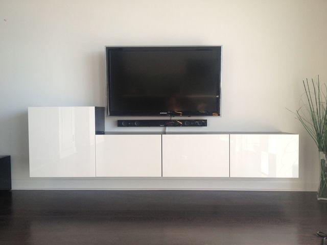 album 5 banc tv besta ikea r alisations clients s rie 2 mobilier s jour pinterest. Black Bedroom Furniture Sets. Home Design Ideas