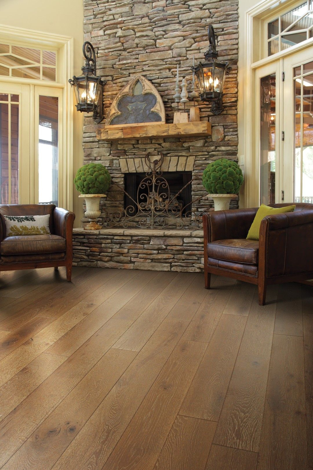 House Living Room Rustic, House