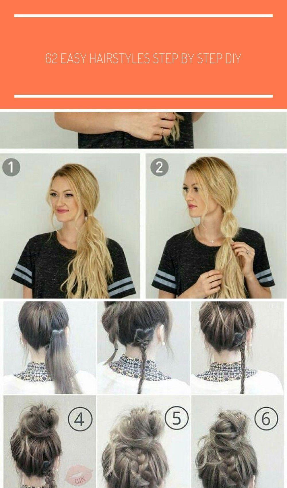 Schauen Sie sich unsere Sammlung von einfachen Frisuren Schritt für Schritt DIY. Sie werden Haare bekommen …, #Check …