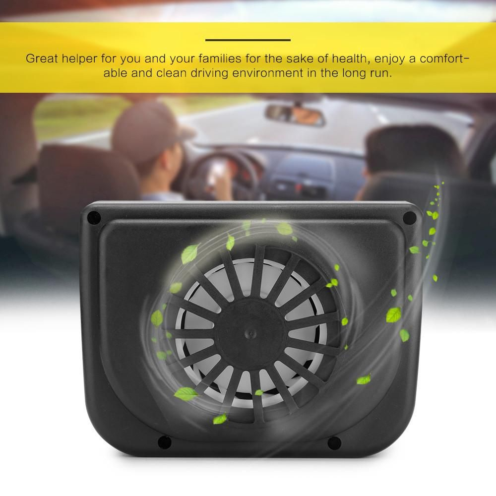 Mini Style Universal Solar Powered Auto Car Window Cooler