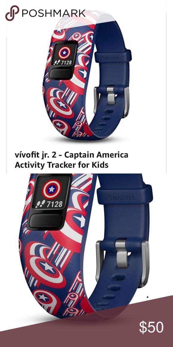 2 Adjustable Captain America Garmin Vívofit Jr