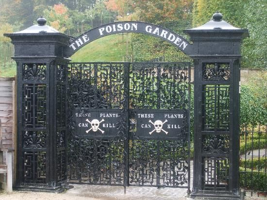 Alnwick Castle And Garden The Poison Garden Alnwick Castle The