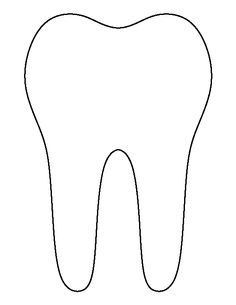 Juicy image with regard to printable tooth