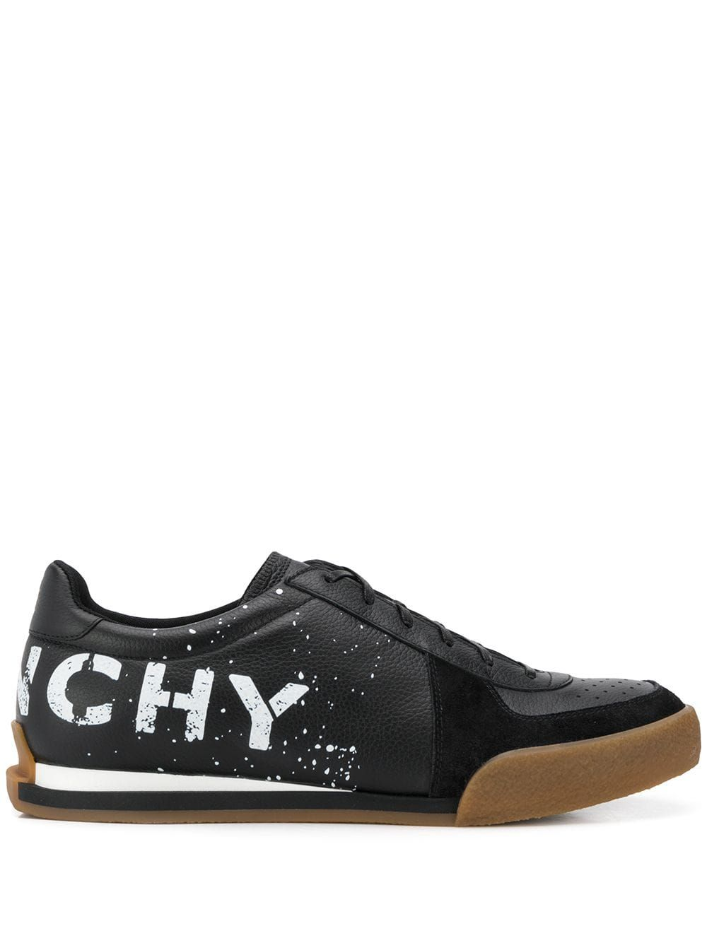 GIVENCHY GIVENCHY SPLATTER PRINT SNEAKERS BLACK. #givenchy