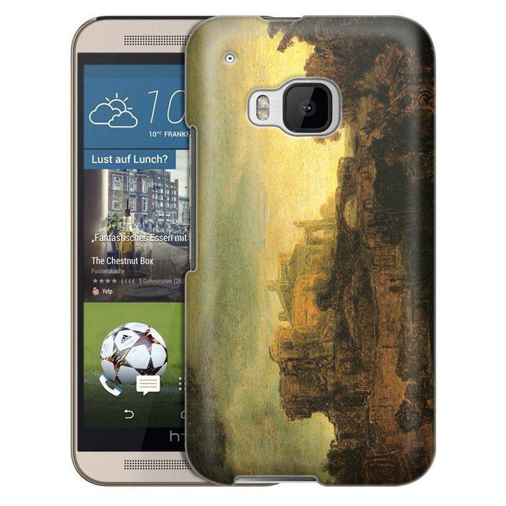 HTC One M9 Rembrandt Landscape with a Chateau Slim Case