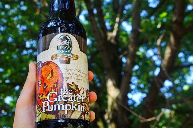 The Great'er Pumpkin raises up and pours a rich deep and burnished orange color…