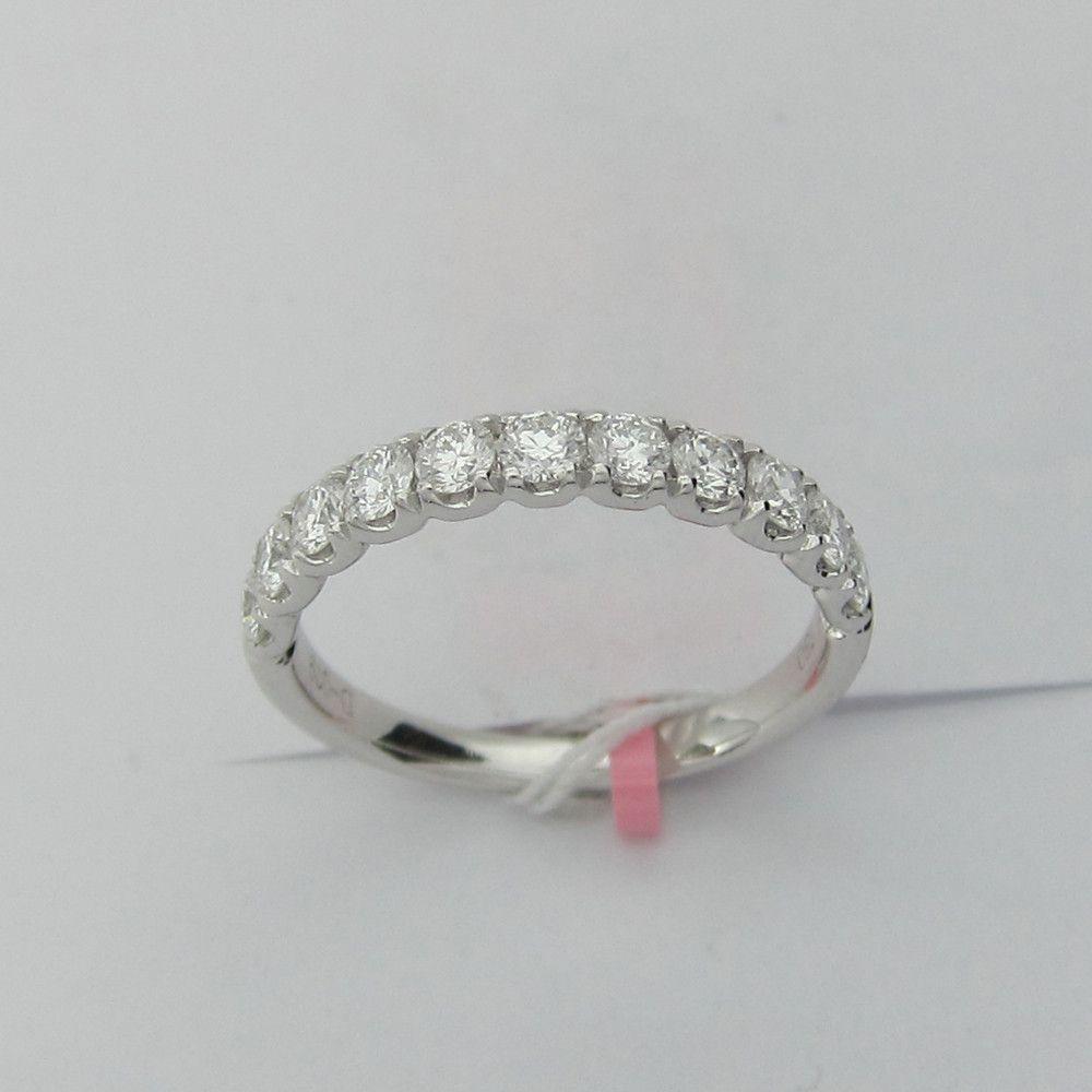 0.79CT F SI 18K 11 Stone Diamond Wedding Band -IDJ015390