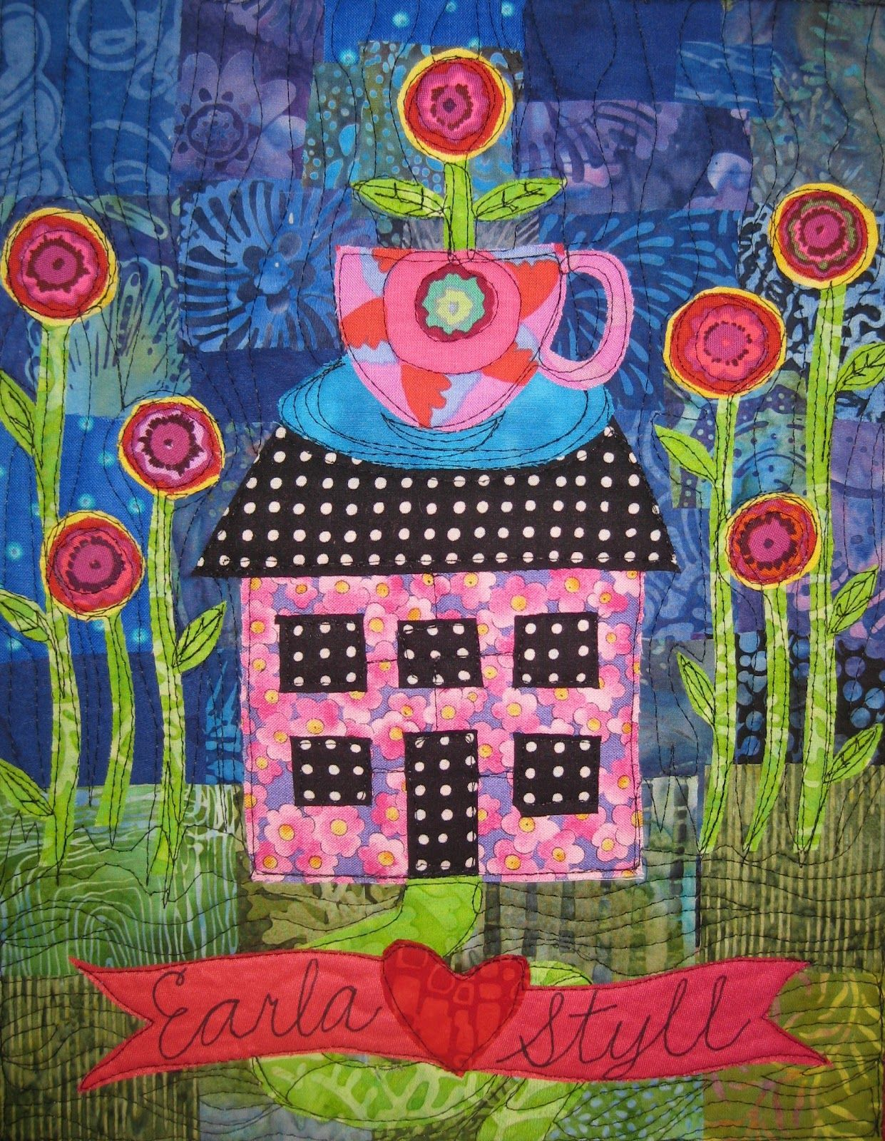 WHIMSICAL house artwork | Twisted Sister: Whimsical Door Sign ...