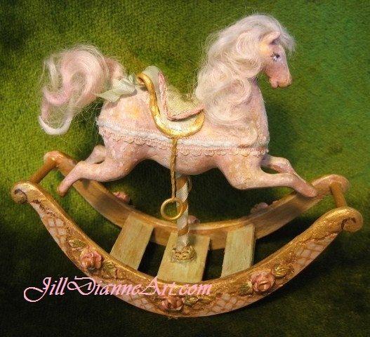 Jill Dianne Dollhouse Miniature hand sculpted and by JillDianneArt