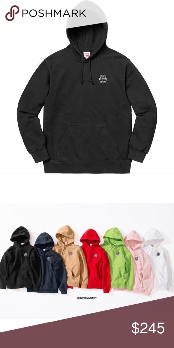 c78d4bb1 Supreme X Lacoste Sweatshirt Brand New Supreme Tops Sweatshirts & Hoodies