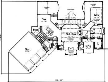 Buy Affordable House Plans Unique Home Plans And The Best Floor Plans Online Homeplans Store Collect Floor Plan Design House Plans Traditional House Plan