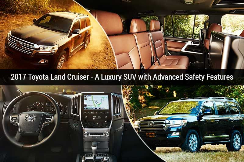 2017 Toyota Land Cruiser A Luxury SUV Luxury suv, Land