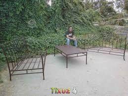 Resultado De Imagen Para Muebles Para Terraza En Fierro Forjado Chile Terrazas Muebles Terraza Muebles De Exterior