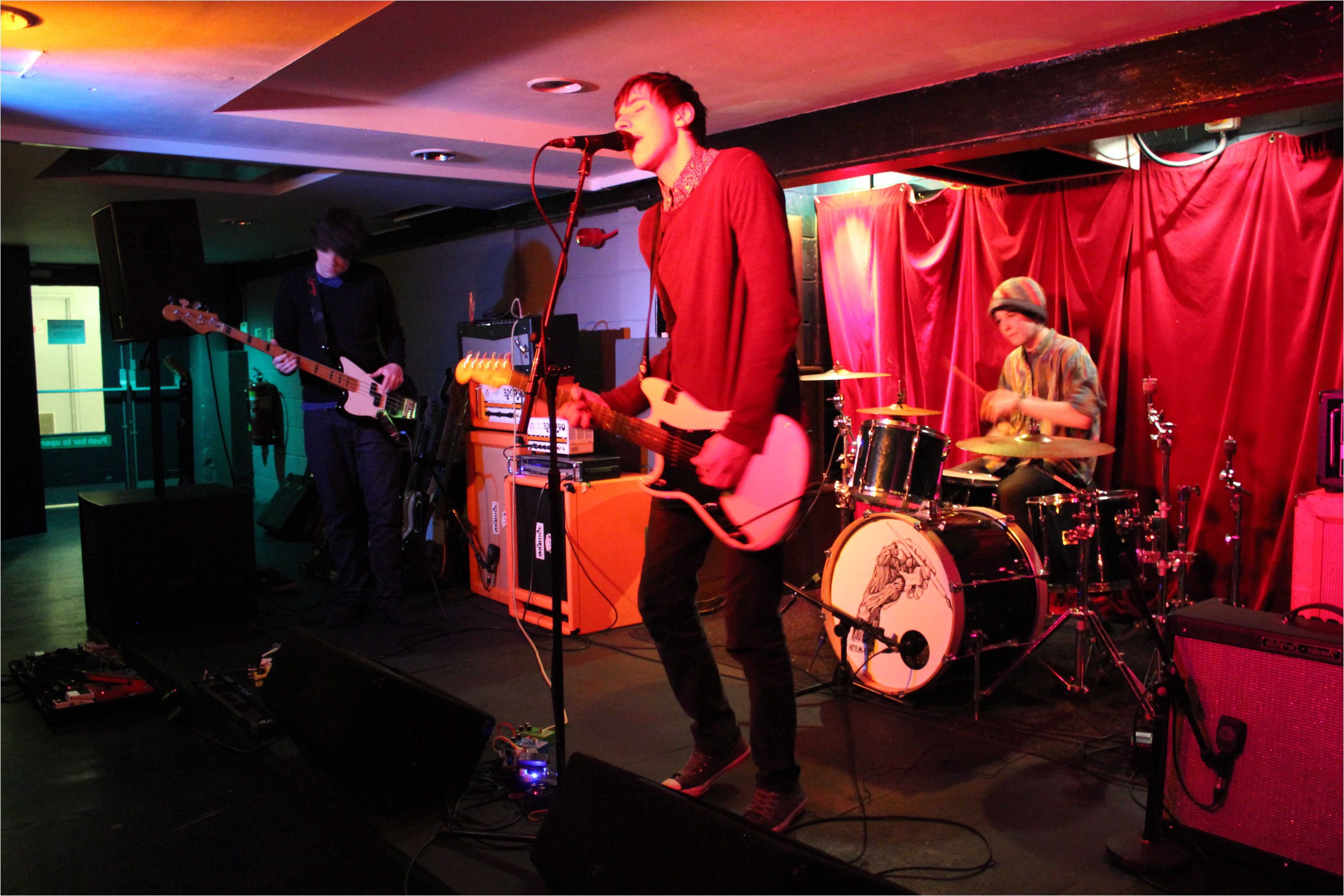 Polymath Lead Post Rock Charge At The Basement Arts York Webzine From  Basement York