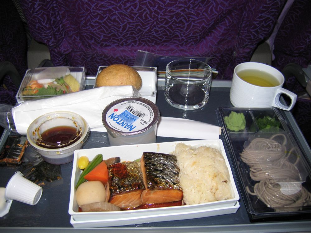 Singapore Airlines(画像あり) ランチプレート, 機内食, ランチ
