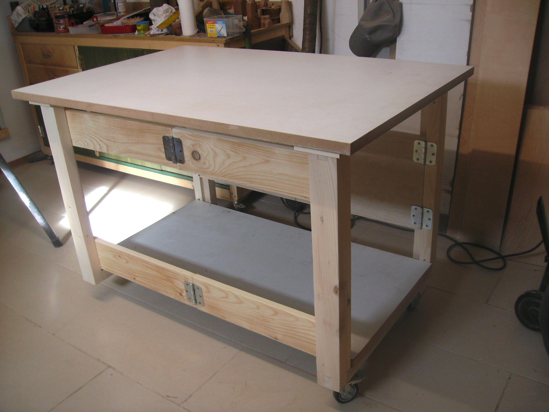 Faltbarer Werktisch Bauanleitung zum selber bauen