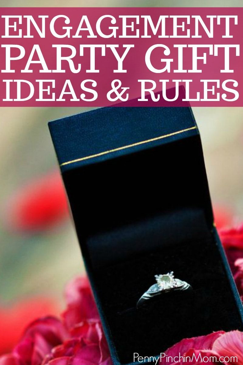 Engagement Party Gift Ideas Etiquette Frugal Wedding Ideas