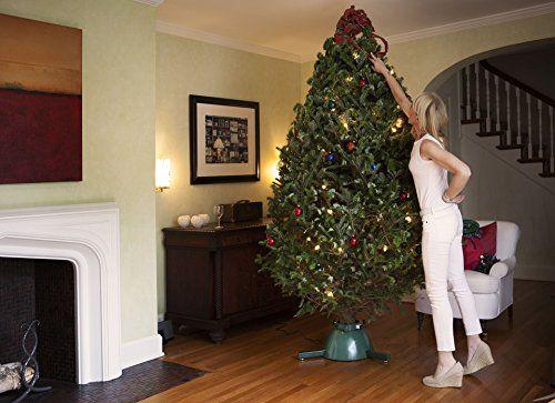 1ST EVER ROTATING CHRISTMAS TREE STAND   Brilliant Patented Design For Live Christmas  Tree, Rotating