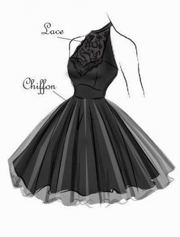 34 Ideas Fashion Design Sketches Dresses Inspirational - Fashion design sketches...
