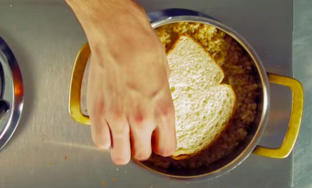 Fix Burnt Rice Crop Food Food Hacks Piece Of Bread