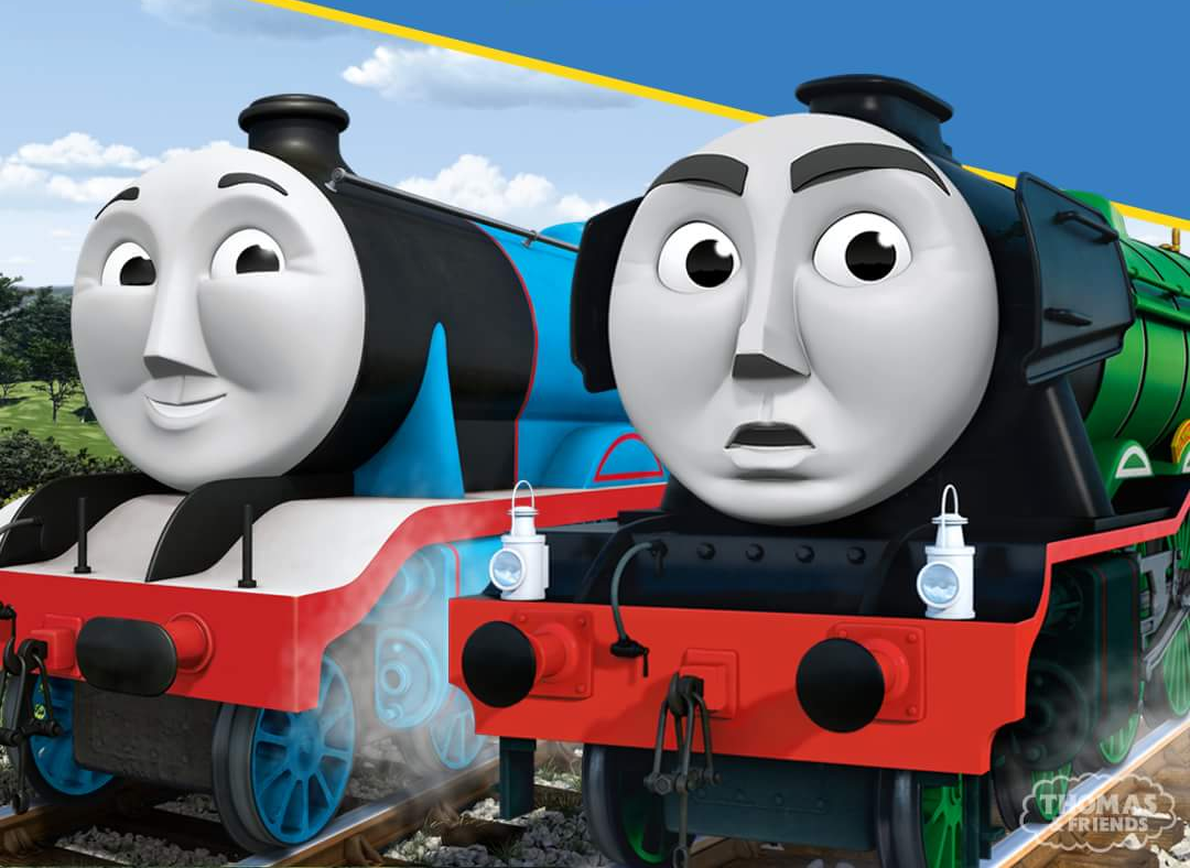 Gordon And The Flying Scotsman Scott Brother Engines Thomas The Tank Engine Thomas And Friends Thomas The Tank