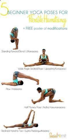 yoga for beginners  5 beginner yoga poses for flexible