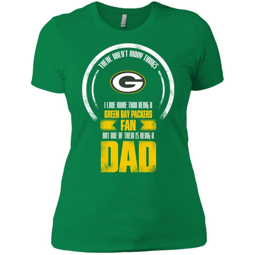 finest selection 74eec 6ea5a I Love More Than Being Green Bay Packers Fan T Shirts ...