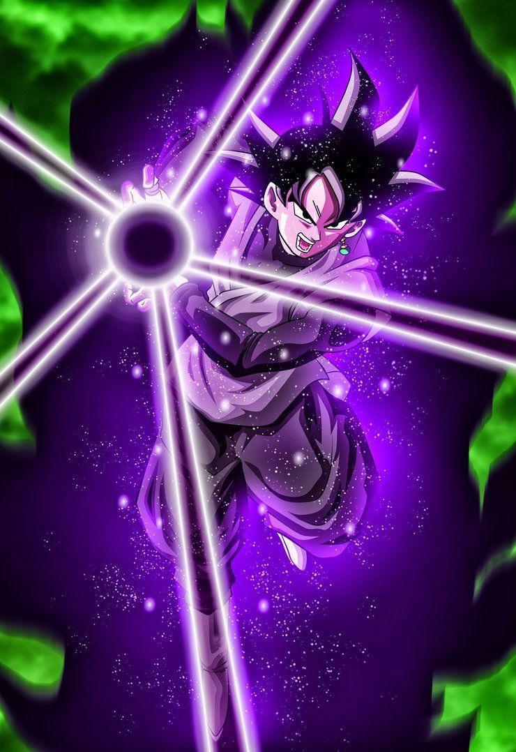 Dark Kamehameha by rmehedi Goku black, Goku, Dragon ball z