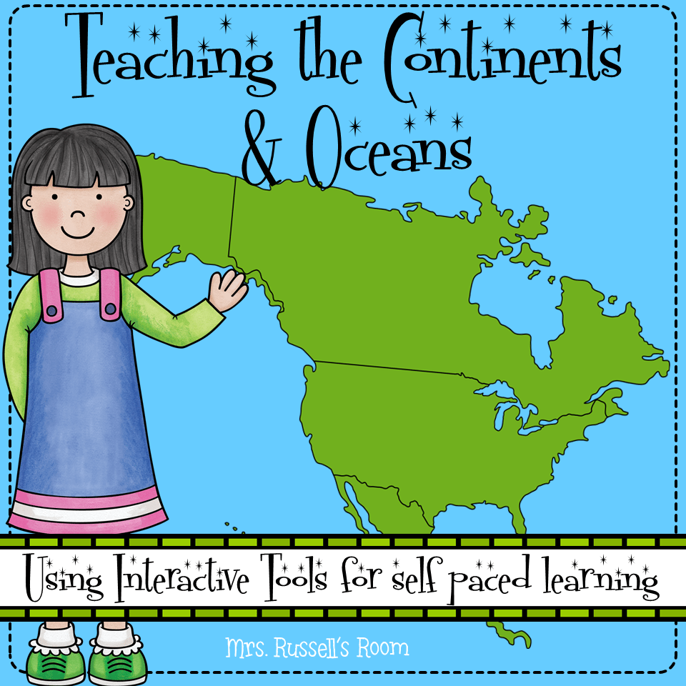 Teaching the Continents & Oceans Third grade writing