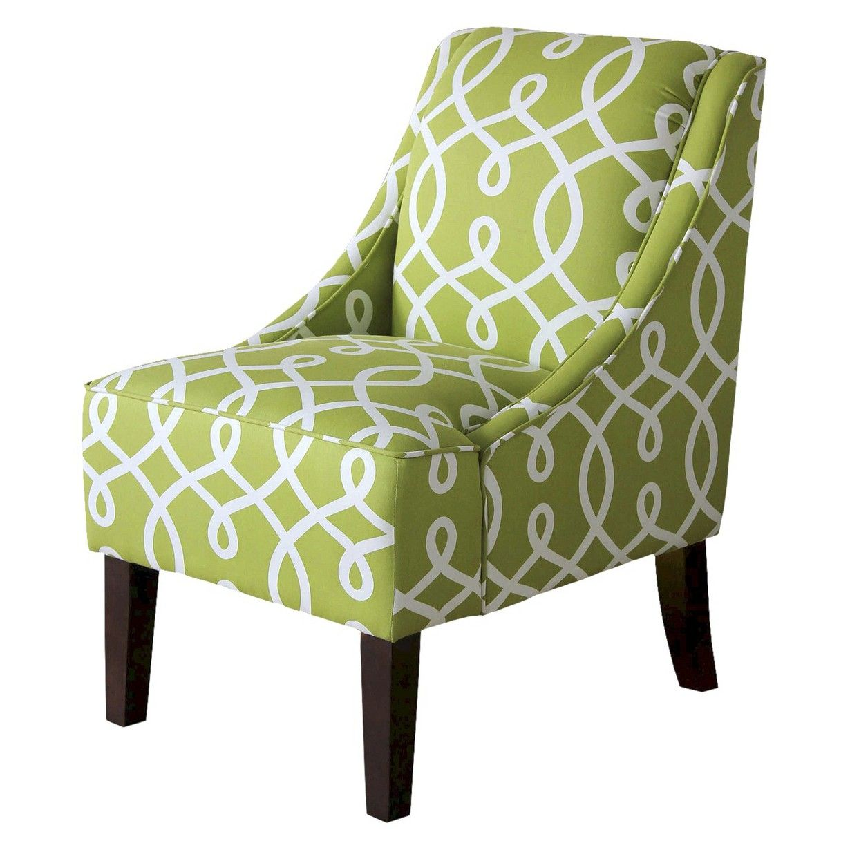 threshold™ swoop chair - green cursive : target | living room