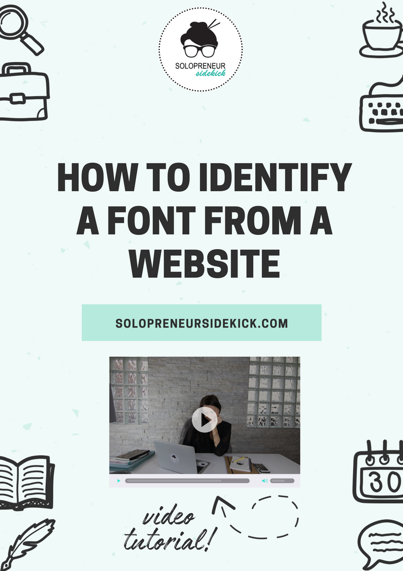How to Identify a Font from a Website Virtual assistant