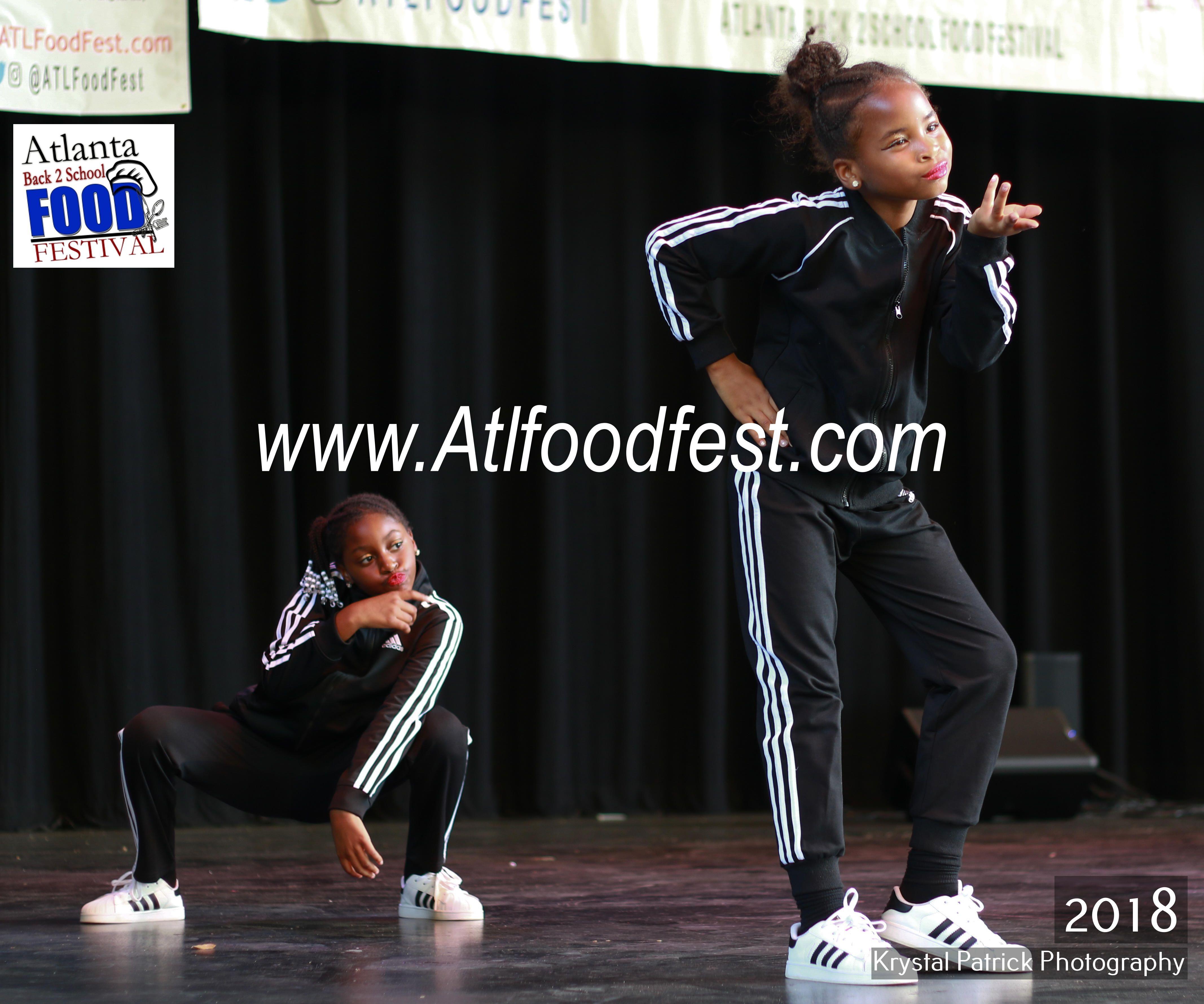 Atlanta Kids Dance Competition Host Professional Dancer Celebrity Choreographer Naeemah Mccowan Atlfoodfest The Festival Is Atlanta Festival Food Festival