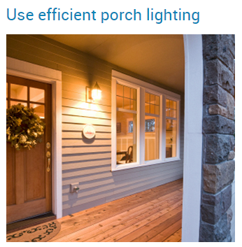 The outdoor porch light is one of your homes most used fixtures energy star certified