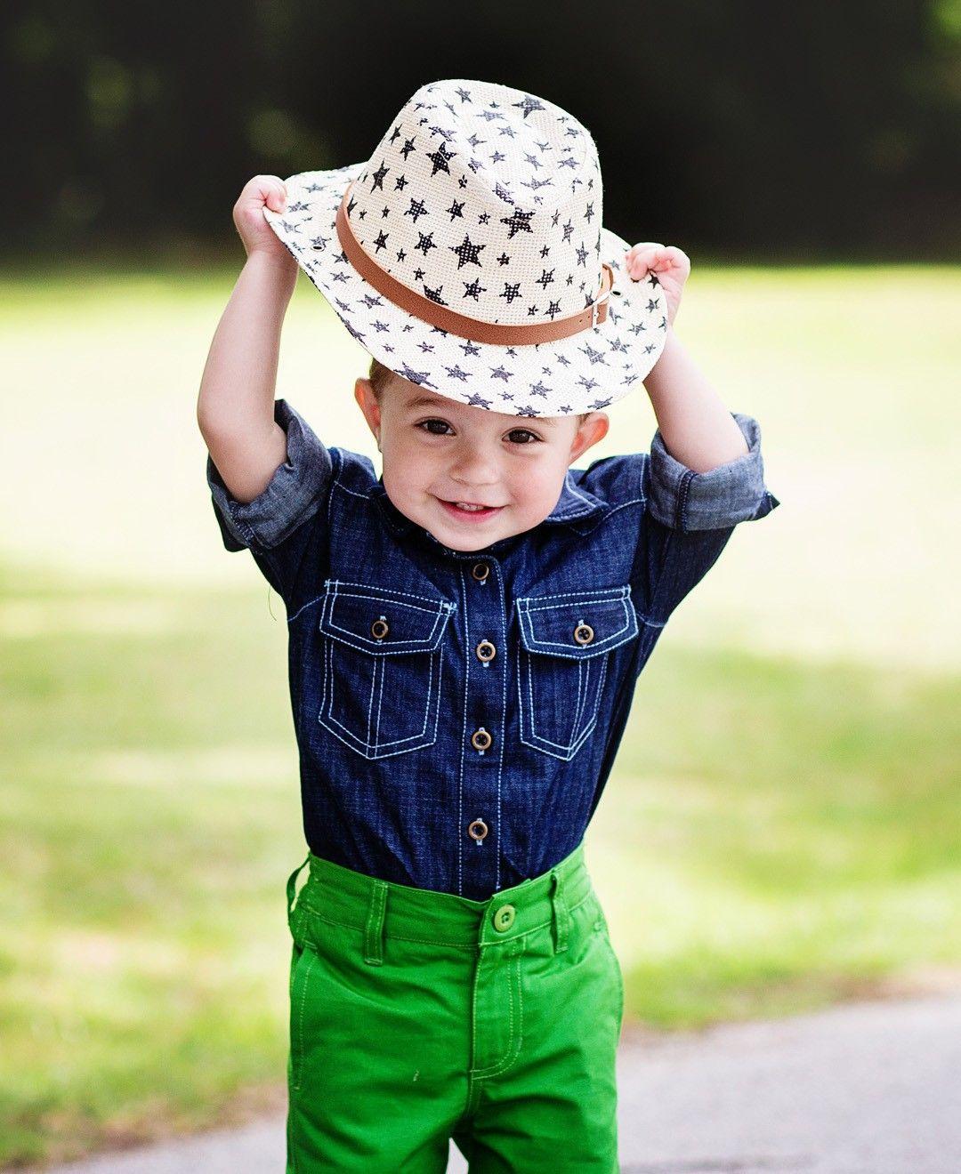 dac5ae21af9 Sammy Star Cowboy Hat. A super cute accessory for your baby or toddler boy.