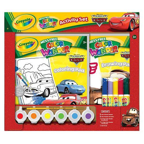 crayola mess free color wonder activity set cars crayola toys r - Color Wonder Books