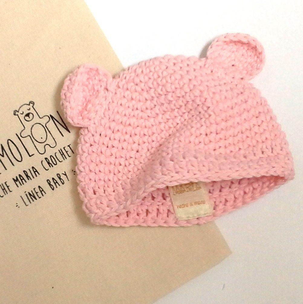 c8a722bb5 Gorro con orejas para Recién Nacido