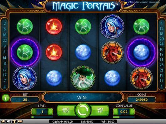 Магический игровой автомат в казино